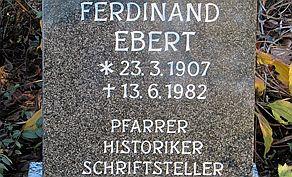 Pfarrer als Gelehrter und Künstler: Ferdinand Ebert