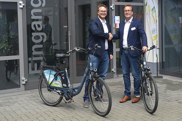 Food-Hotel übernimmt Leihservice für E-Bikes der Stadtwerke