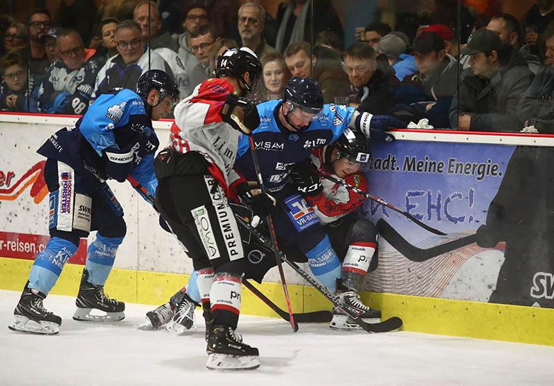 Nuancen haben das Derby EHC Neuwied gegen EG Diez-Limburg entschieden