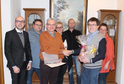 Kontinuit�t im CDU-Ortsverband Alsdorf