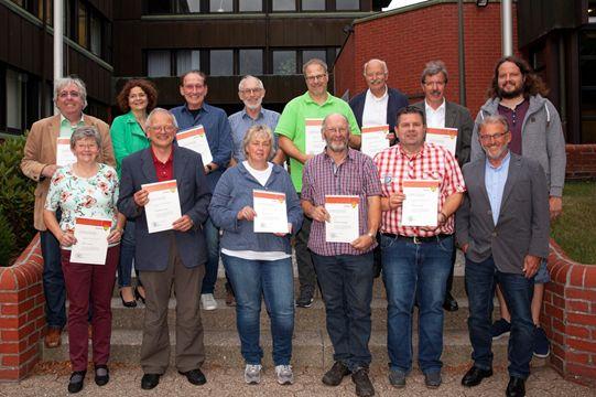 Beigeordnete und Ratsmitglieder wurden in Hachenburg geehrt