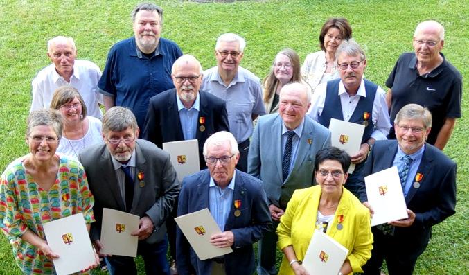 Dank und Anerkennung: Landrat verabschiedete langjährige Kreistagsmitglieder