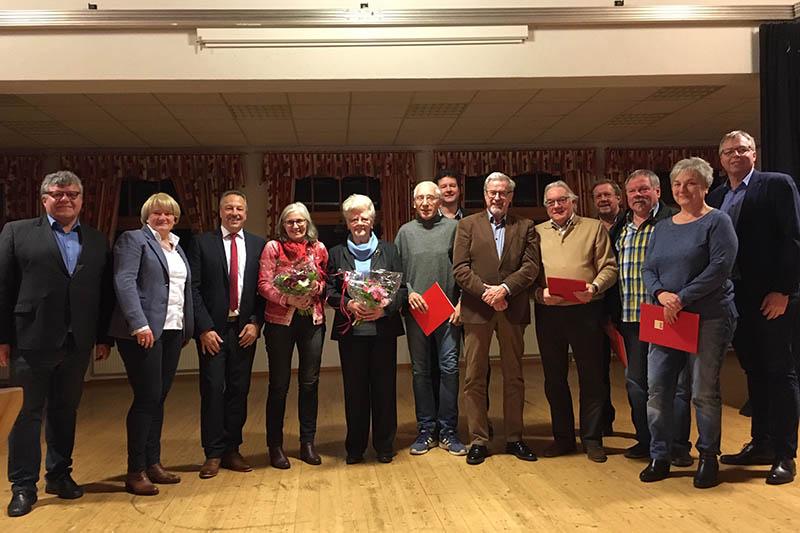 SPD ehrte langjährige Mitglieder