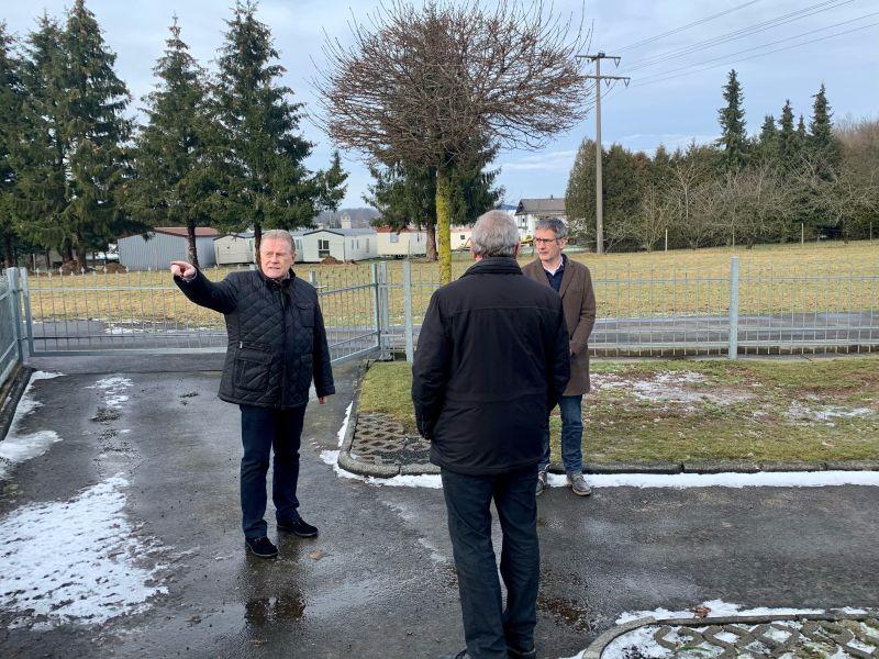 Umgestaltung des Friedhofs Großseifen/Eichenstruth wird vom Land gefördert