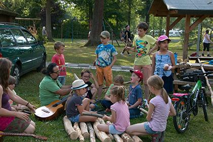 Ferienspa�aktion und Sommerfest in Mittelhof