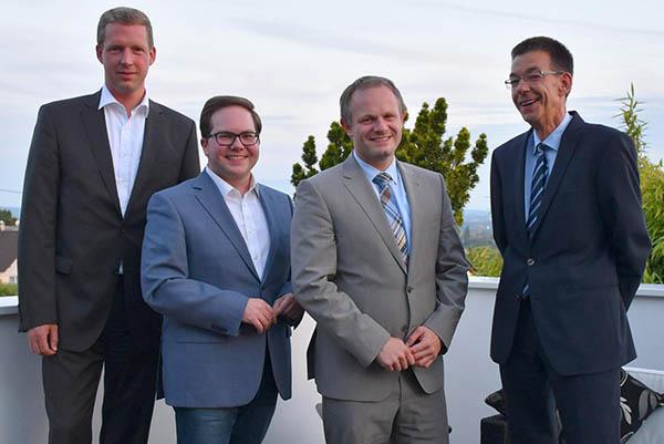 CDU nominieren Einig einstimmig zum Oberbürgermeisterkandidaten