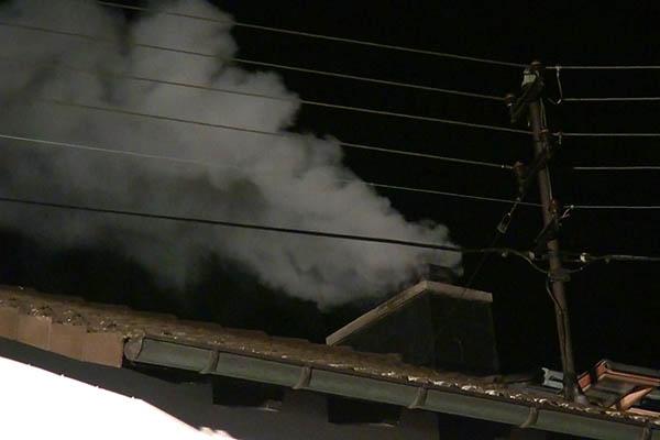 Kaminbrand in Elgert