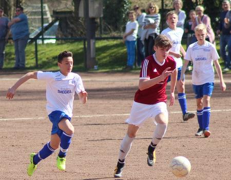 Torloses Spitzenspiel der C-Jugend-Bezirksliga Ost