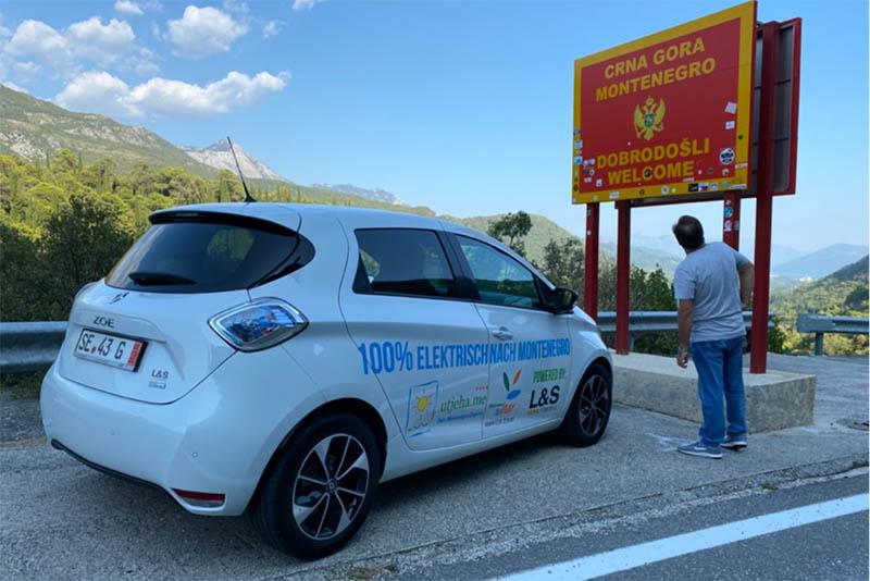 Experiment erfolgreich: Für Zwanzig Euro elektrisch nach Montenegro