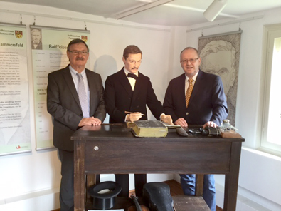 Internationaler Museumstag: Enders besuchte Raiffeisenhaus