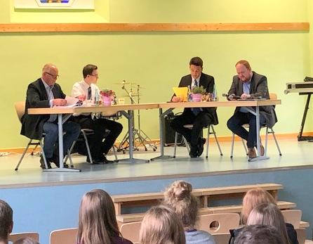 Landrats-Kandidaten diskutierten an der IGS Betzdorf-Kirchen