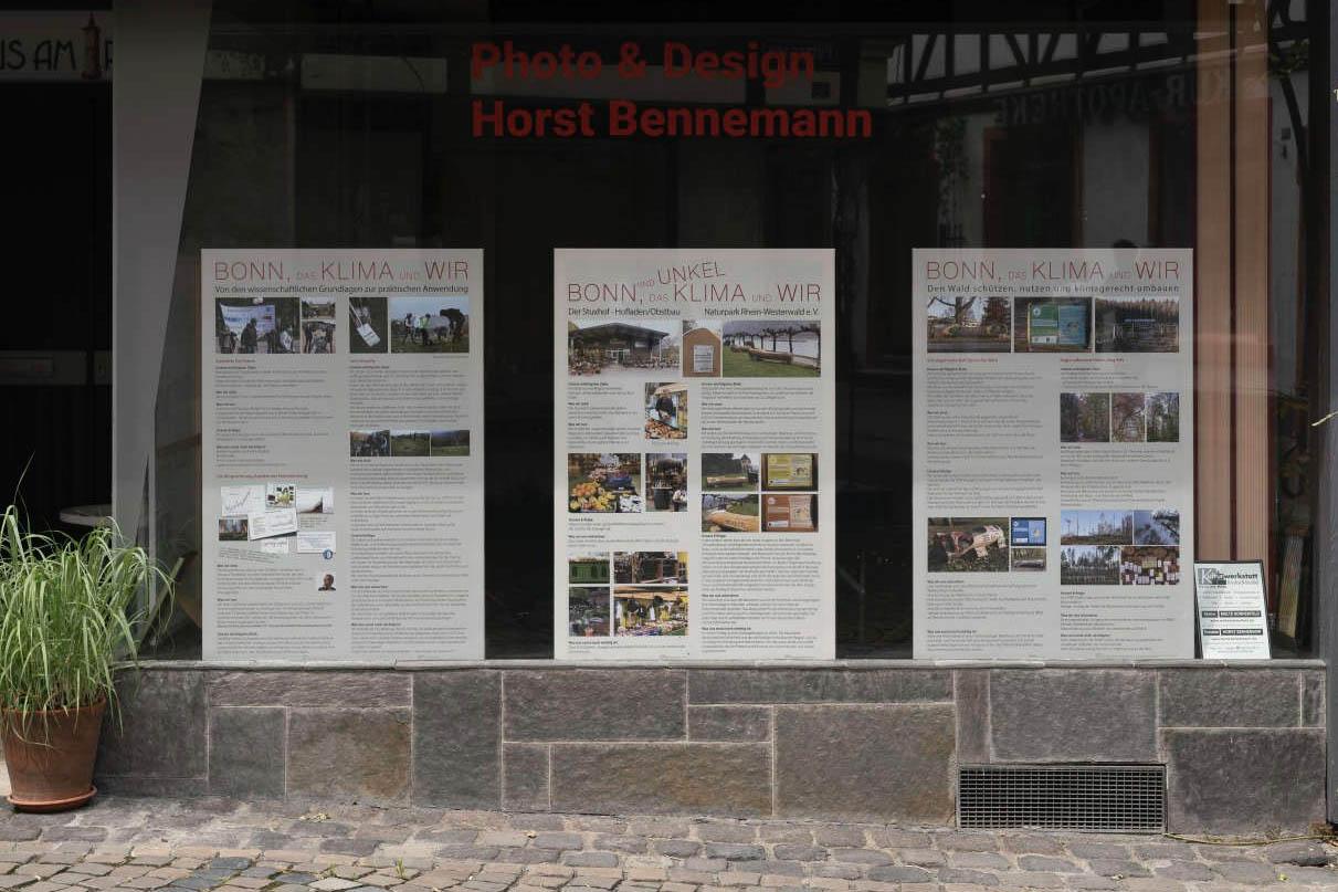 """Ausstellung: """"Bonn und Unkel, das Klima und wir"""""""