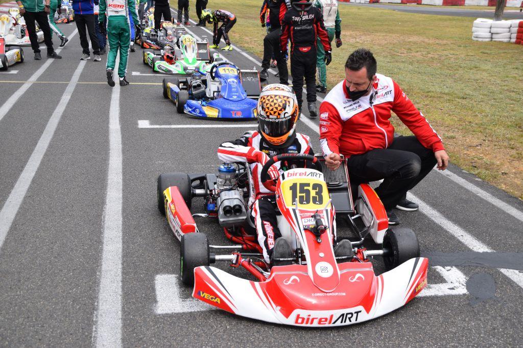 Enrico Förderer startete in der Deutschen Junioren Kart Meisterschaft
