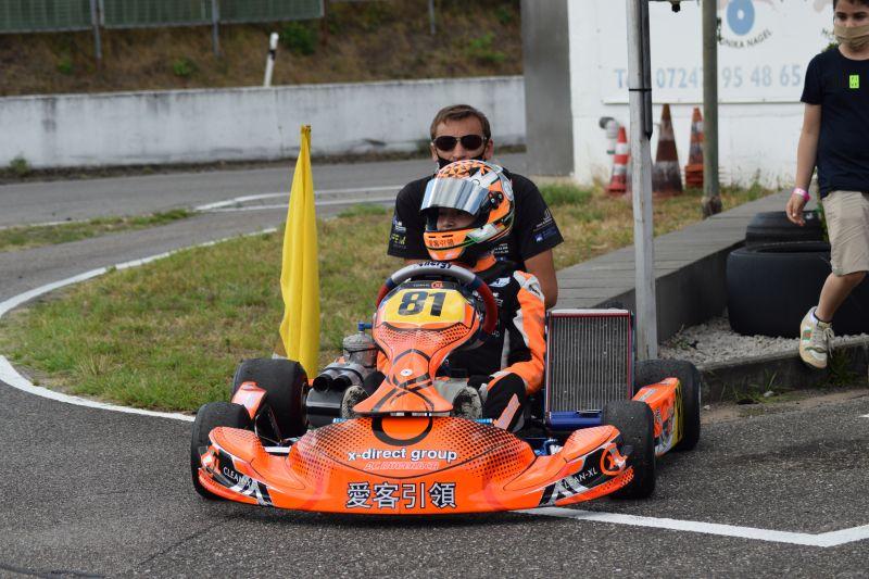 Erster Doppel-Sieg in der neuen Klasse für Enrico Förderer