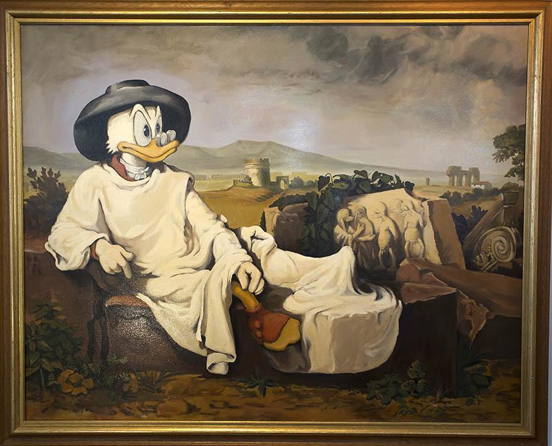Eins von 150 Werken, die in der Stadt-Galerie ausgestellt sind. Foto: Wolfgang Tischler