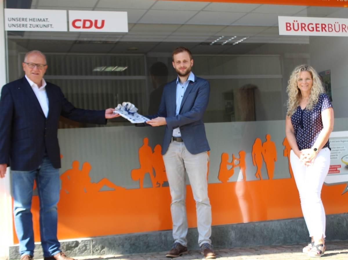 Wissen: CDU-Landtagsabgeordneter eröffnet Bürgerbüro