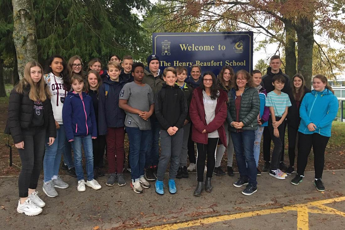 Schüler der Nelson-Mandela-Schule reisten zum Erasmusaustausch nach England