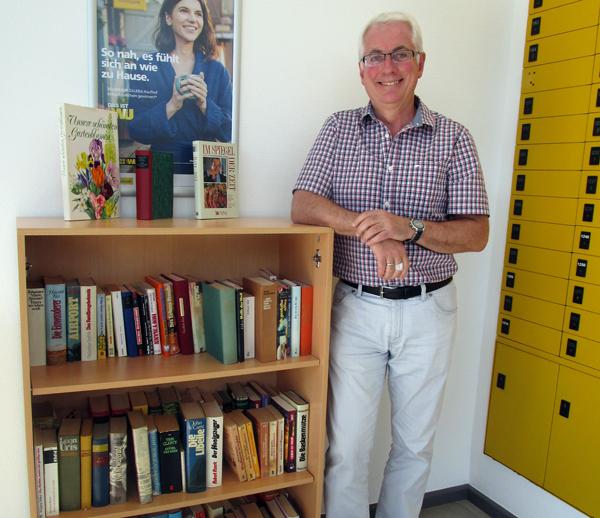 Öffentlicher Bücherschrank in Puderbach eingerichtet