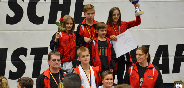KSC Karate Team erfolgreichster Verein bei Deutschen Meisterschaft