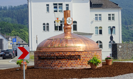 �Erzquell-Kreisel� in Mudersbach eingeweiht