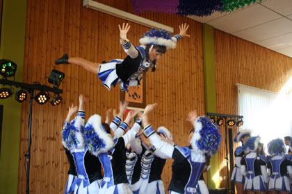 Etzbacher Karneval wurde temperamentvoll gefeiert