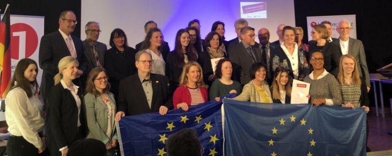 Raiffeisen-Campus Dernbach ist neue Europaschule