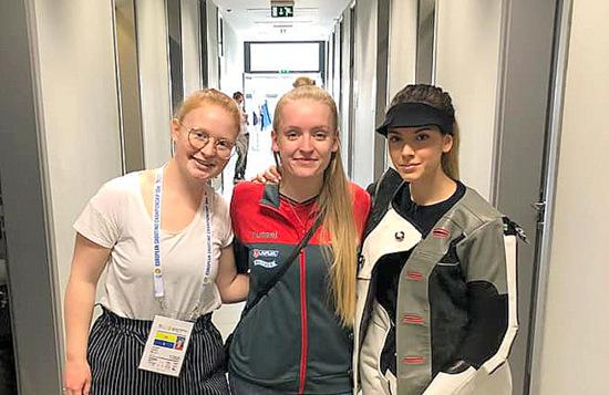 Treffsicheres Trio: Wissener Sch�tzinnen bei Europameisterschaft in Kroatien