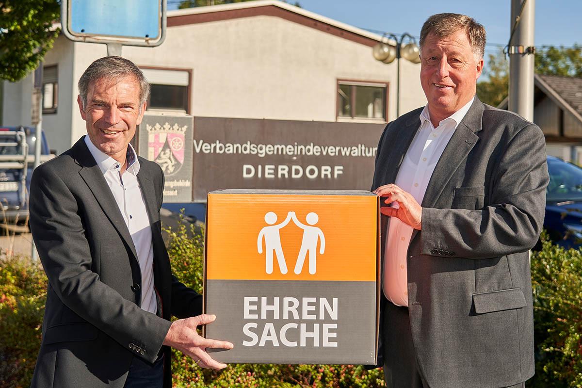 VG Dierdorf spendet an Flutregion
