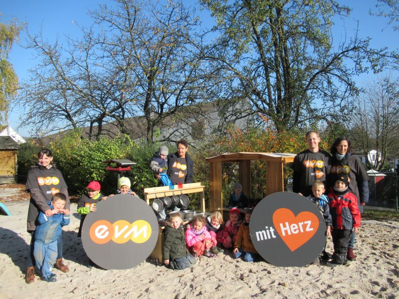 EVM ermöglicht Spielküche in integrativer Kindertagesstätte St. Franziskus