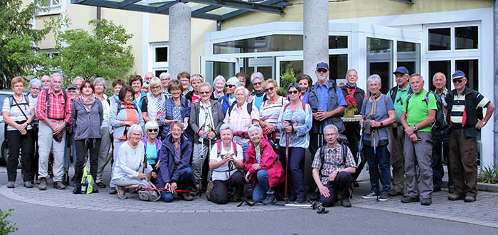 Evangelischer Verein Heddesdorf wandert durch die Pfalz