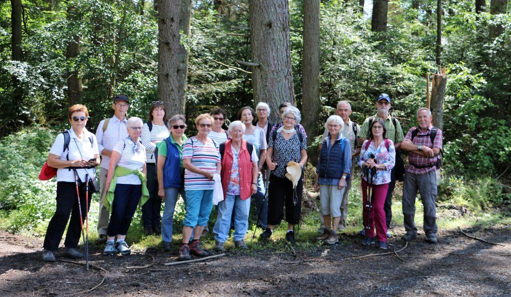 Evangelischer Verein Heddesdorf-Neuwied wanderte um den Köppel