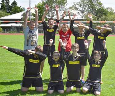 U 14-Faustballer holten Landesmeistertitel