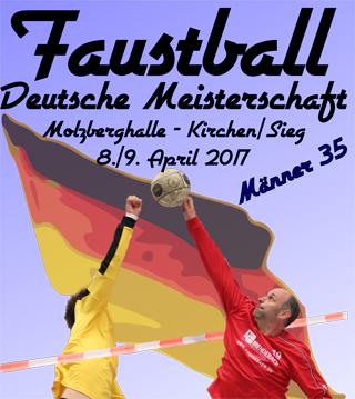 Deutsche Meisterschaft Faustball findet in Kirchen statt