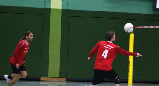 Erfolgloser Heimspieltag für Kirchener Faustballmänner