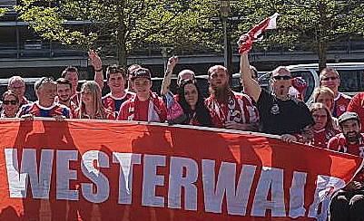 FC Bayern-Fanclub �Hoher Westerwald� auf Tour