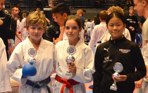 KSC Karate Team mit fünf Medaillen in Dänemark