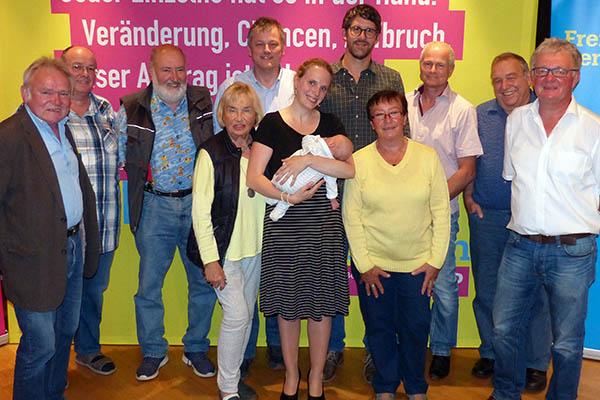 FDP stellt Liste für VG-Ratswahl Rengsdorf-Waldbreitbach auf