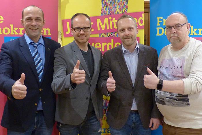 FDP-Liste für Linzer Stadtrat steht