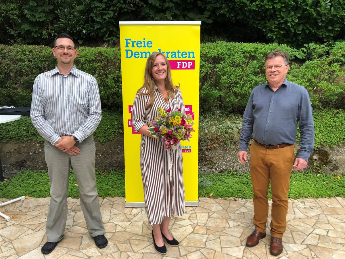 FDP Kirchen: Stephanie Rausch neue Vorsitzende – Dank an Vorgänger
