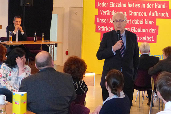FDP-Kreisverband hatte zu Neumitgliedertreffen geladen