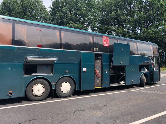 Fernlinienbus stillgelegt wegen gravierender Mängel