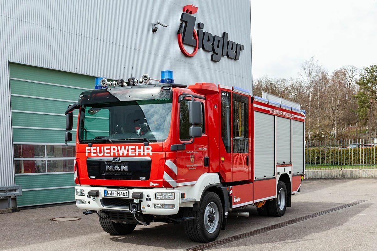 Neues Hilfeleistungslöschfahrzeug für VG Hachenburg
