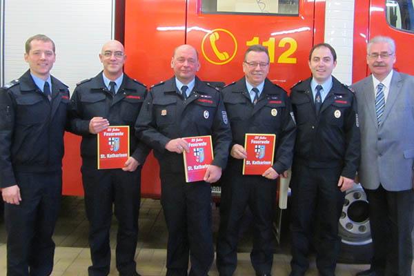 Jahreshauptversammlung der Feuerwehr St. Katharinen