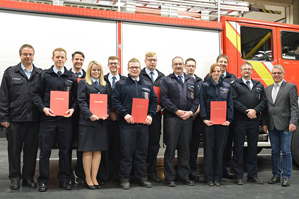 Feuerwehr Kirchspiel Anhausen zieht Bilanz