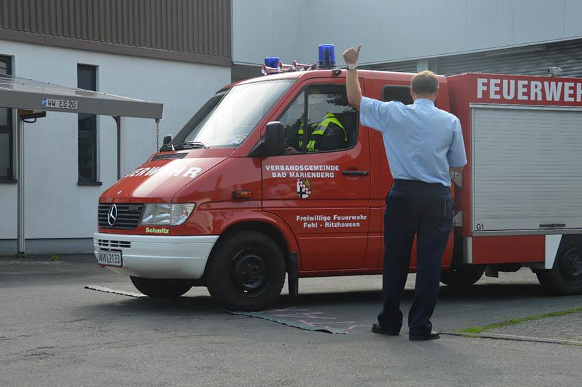 Geschicklichkeitsfahren der Feuerwehren des Westerwaldkreises