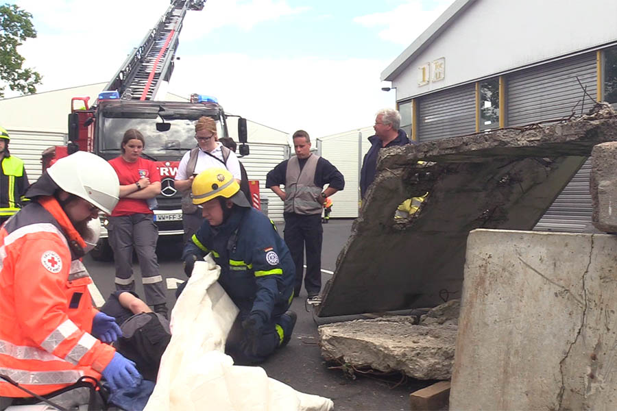 Großübung der Rettungskräfte im Westerwaldkreis