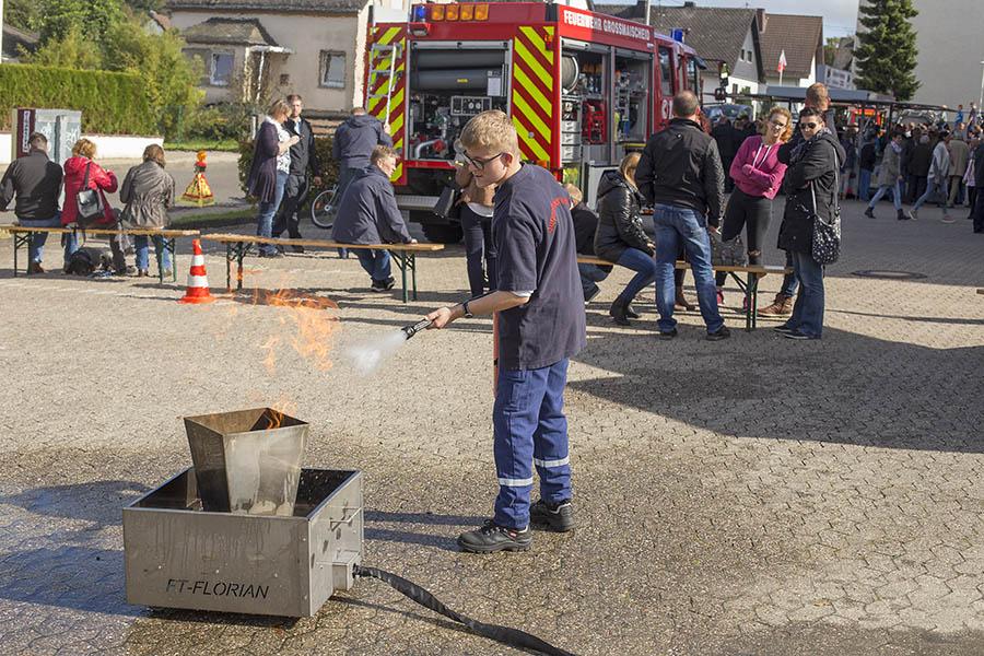 Freiwillige Feuerwehr Großmaischeid feierte 85. Geburtstag