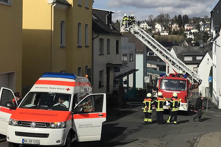 Toter nach Dachstuhlbrand in Höhr-Grenzhausen