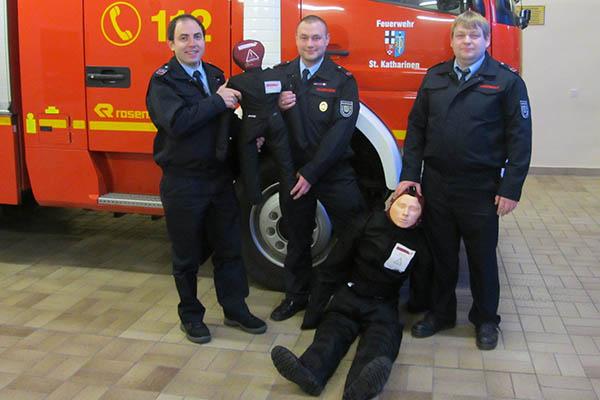 Förderverein der Feuerwehr St. Katharinen blickt zurück