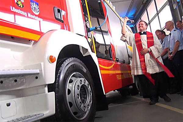 HLF 20 an die Feuerwehr Montabaur übergeben